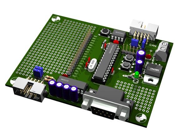 PIC18F2680 Testboard