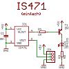 Schaltplan des einfachen IS471 Abstandssensor