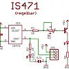 Schaltplan des regelbaren IS471 Abstandssensor