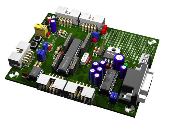 ATMega168 Testboard