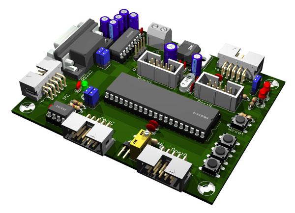 ATMega16/32 Testboard v2